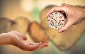 Schenken Sie Zeit